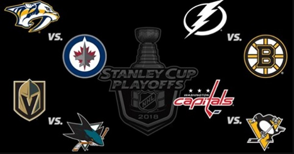 Stanley Cup 2018 - 2.kolo NHL playoff