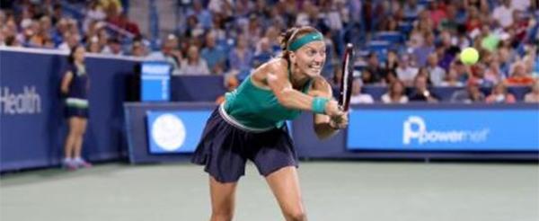 Petra Kvitová, WTA Cincinnati