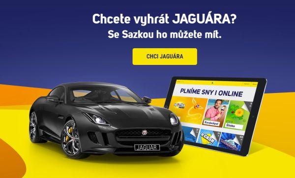 Vyhrajte luxusní auto Jaguar se Sazkabet!