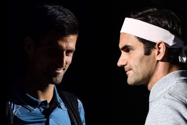 AO - Novak Djokovič, Roger Federer
