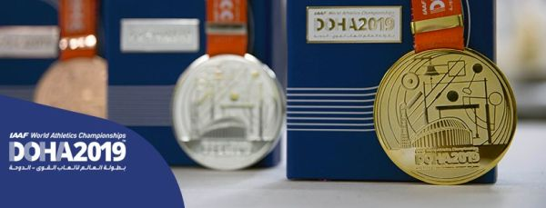 MS v atletice 2019 medaile